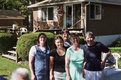 The Nichols gals (minus Steph)