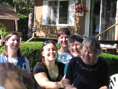 Joan Mel Andi Polly Mom