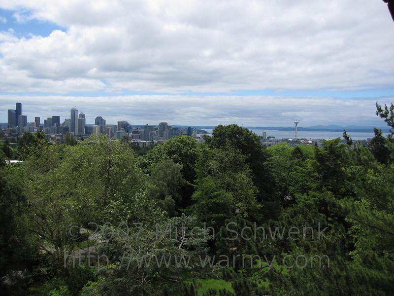 Seattle city scape