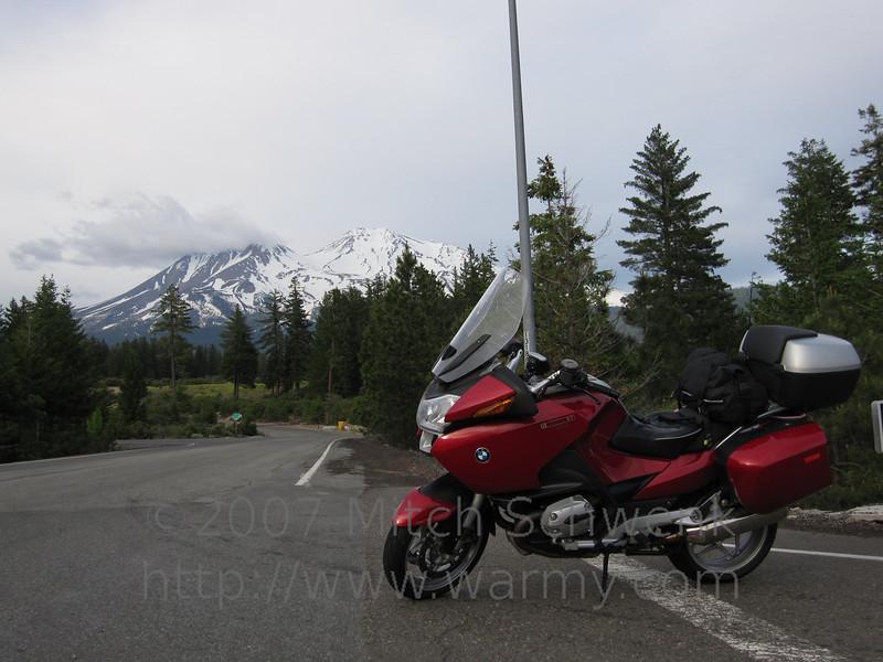 Mount Shasta.
