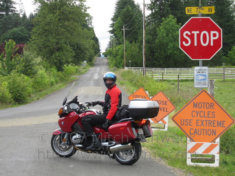 Not a motorcycle friendly road.