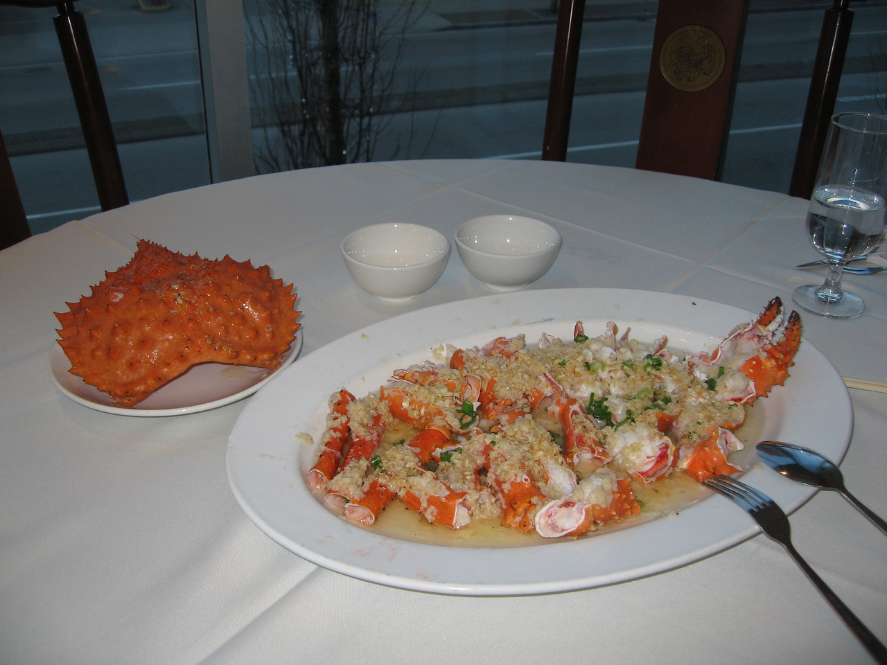 Alaskan King Crab - that's only the legs