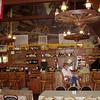 The small resort bar and eating cafe at Mount Charleston.