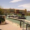 Lake Las Vegas with the Ritz Carlton hotel across the water