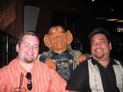 Joey, Ferengi & Eric