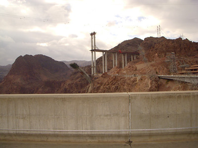 Hoover Dam I-93 Bridge under Construction