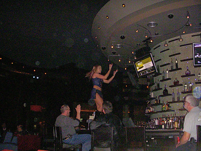 Bar Dancing every 30 mins by the waiters and waitress's in MGM Sports Bar