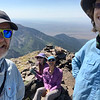 First summit of the day - Venable Peak 13,334