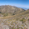 Heading up to Venable Peak