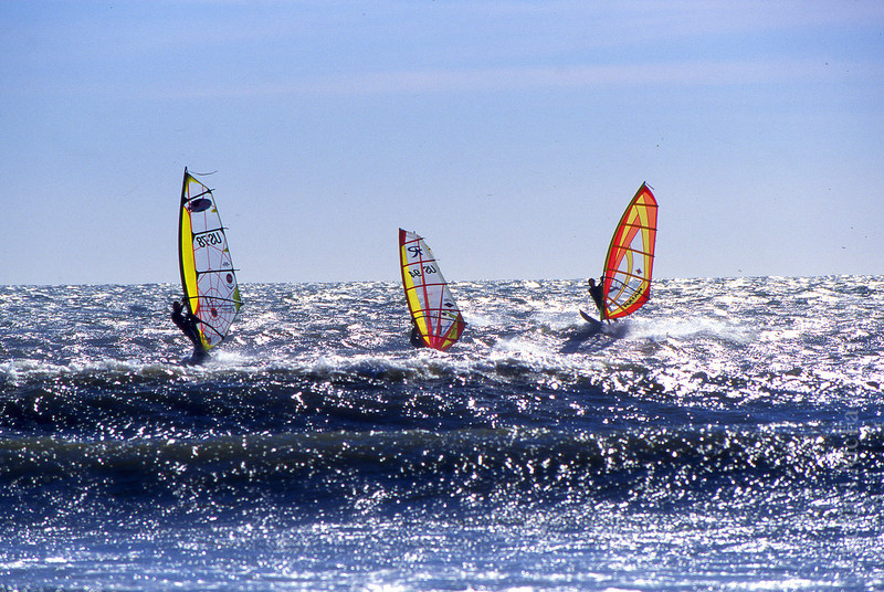 surfer point wind surfers