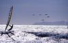 Wind Surfing off Ventura Anacapa Island