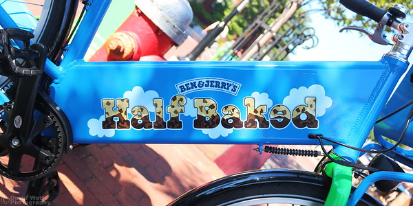 Ben & Jerry's Free-Use Blue Bike, Burlington