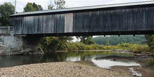 Great Eddy Covered Bridge in Waitsfield