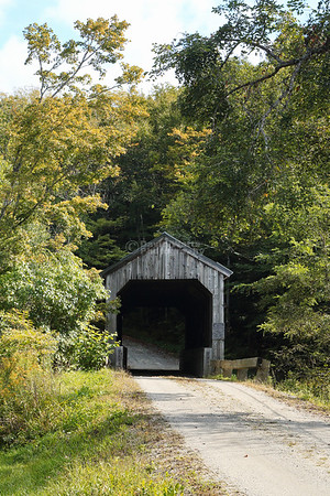 Kidder Hill Covered Bridge in Grafton