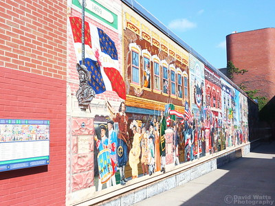History of Vermont Mural in Burlington