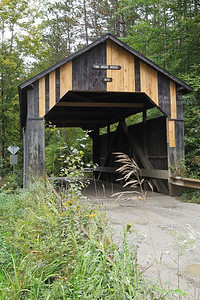 Pine Brook Covered Bridge in Waitsfield