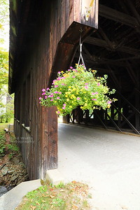 Battlefield Covered Bridge in Fayston