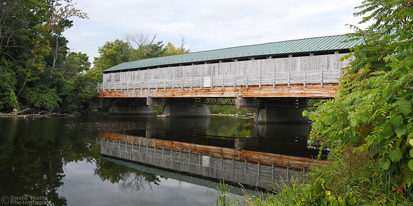 Pulp Mill Covered Bridge in Middlebury