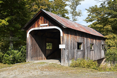 McWilliam Covered Bridge in Grafton