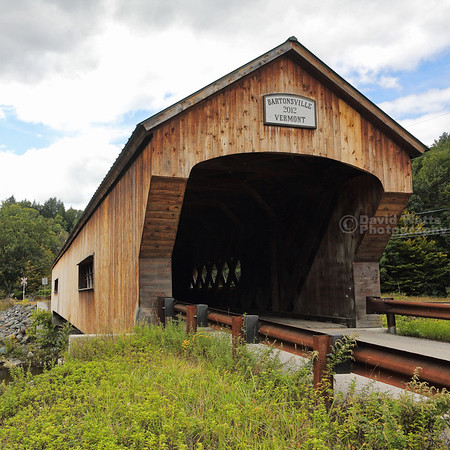 Bartonsville Covered Bridge in Bartonsville