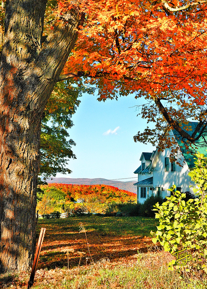 Woodstock VT - Church Hill Road - 2 -
