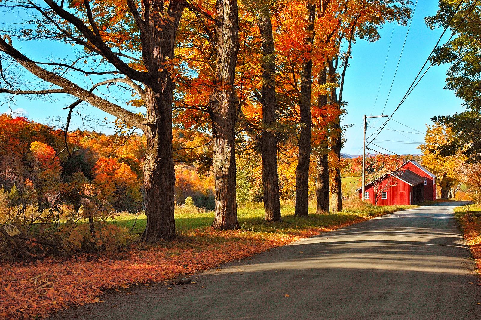 Woodstock VT - Church Hill Road - 3 -