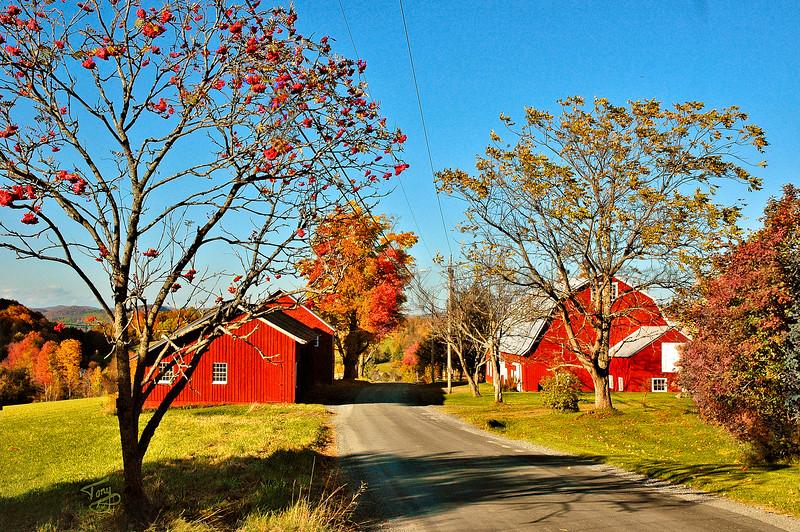 Woodstock VT - Church Hill Road - 4 -