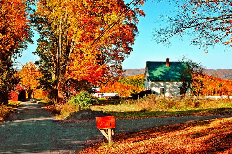 Woodstock VT - Church Hill Road - 1 -