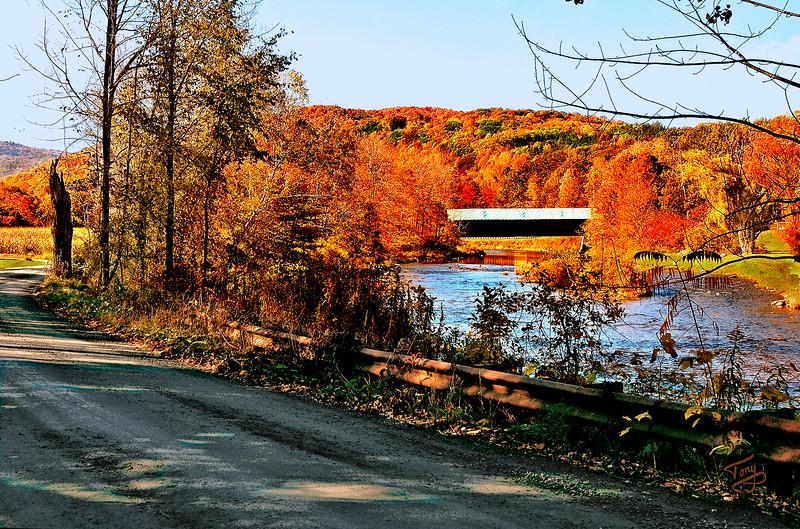 Woodstock VT - Bridges Road - Lincoln Bridge
