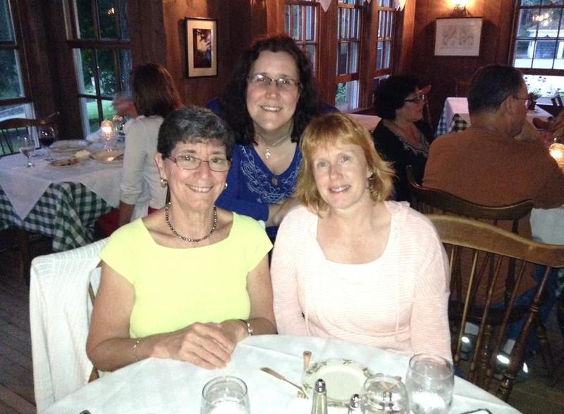 Karen, Susan, Elaine - Aug. 13, 2014