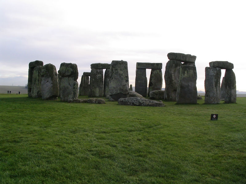 Stonehenge.  John was surprised how close you were allowed to get. When he went in '88 a recent terrorist threat against it meant you could not get closer than 200 yards.