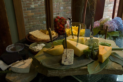Cheese table bounty