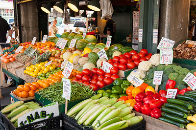 Vegitable Stand Near Pikes Place Market