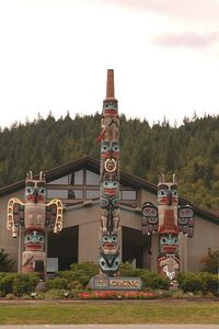 NOPE!!    . I . AM  .NOT  INTO GAMBLING...I  .JUST  .HAD  TO TAKE.. A   .PIT  STOP  THESE ..TOTEM  .POLES  .CAUGHT  .MY EYE