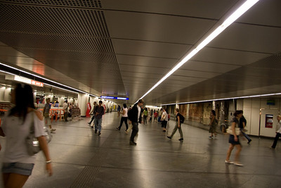 subway in Vienna