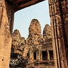Inner courtyard of Angkor Thom