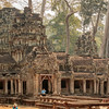 This ancient temple of Angkor Thom was used in the filming of 'Laura Croft Tomb Raider'