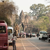 The main gate to Angkor Thom, the capital city of the Khmer Kings