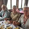 Lunch aboard our boat in Halong Bay with our Vietnam Veterans!