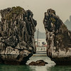 Kissing Rock in Halong Bay