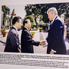President Bill Clinton visiting the President of Vietnam in 2000