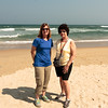 "Carla and Lorraine on ""China Beach"" in Da Nang"