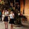 Two young women taking a 'selfie' in Hoi An