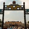 Entrance to Citadel in Hu