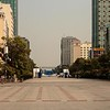 Great open square in front of the Reunification Palace