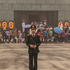 A guard in the square at Ho Chi Minh's Tomb