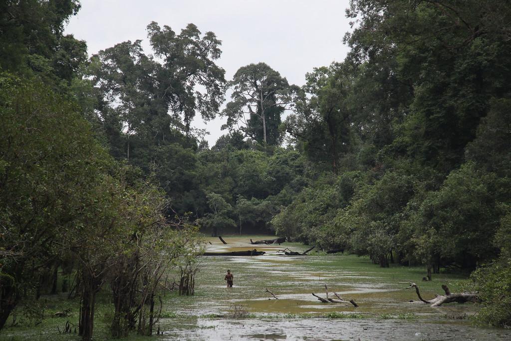 Angkor Bathing