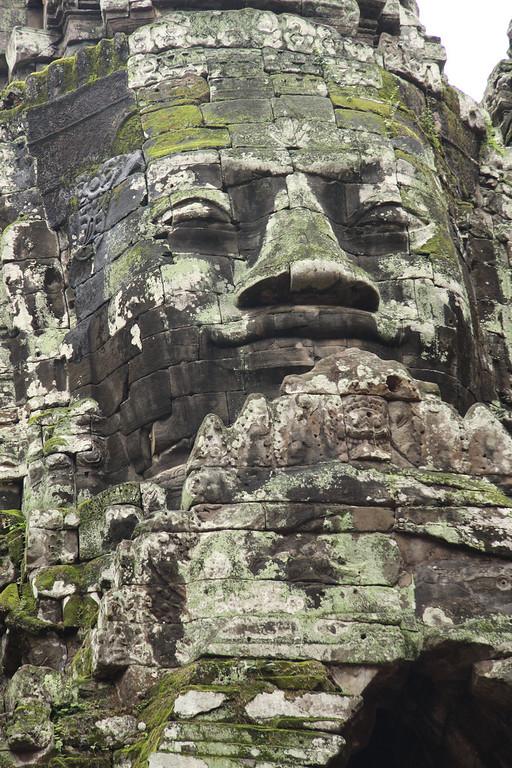 North Gate Face of Angkor Thom
