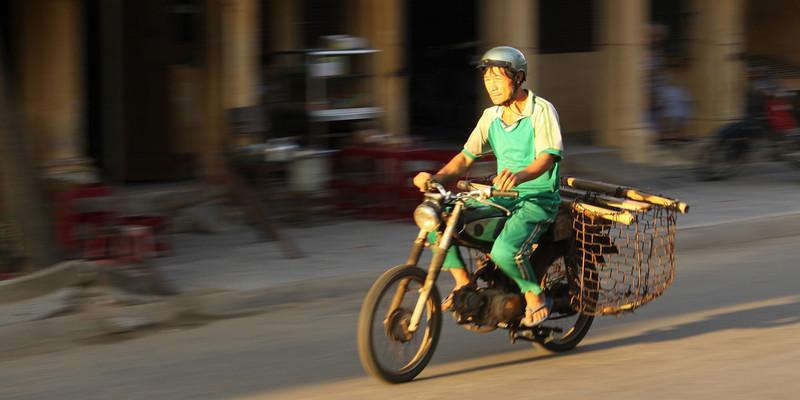 Hoi An Motorcyclist