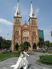 Church downtown Saigon